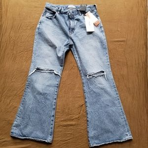 Moussy Vintage Sterling Flare Jeans 31 NWT